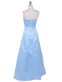 4987 Baby Blue Prom Dress - Baby Blue, Back View Thumbnail