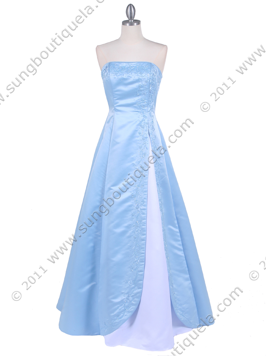 Baby Blue Prom Dress from Sung Boutique Los Angeles