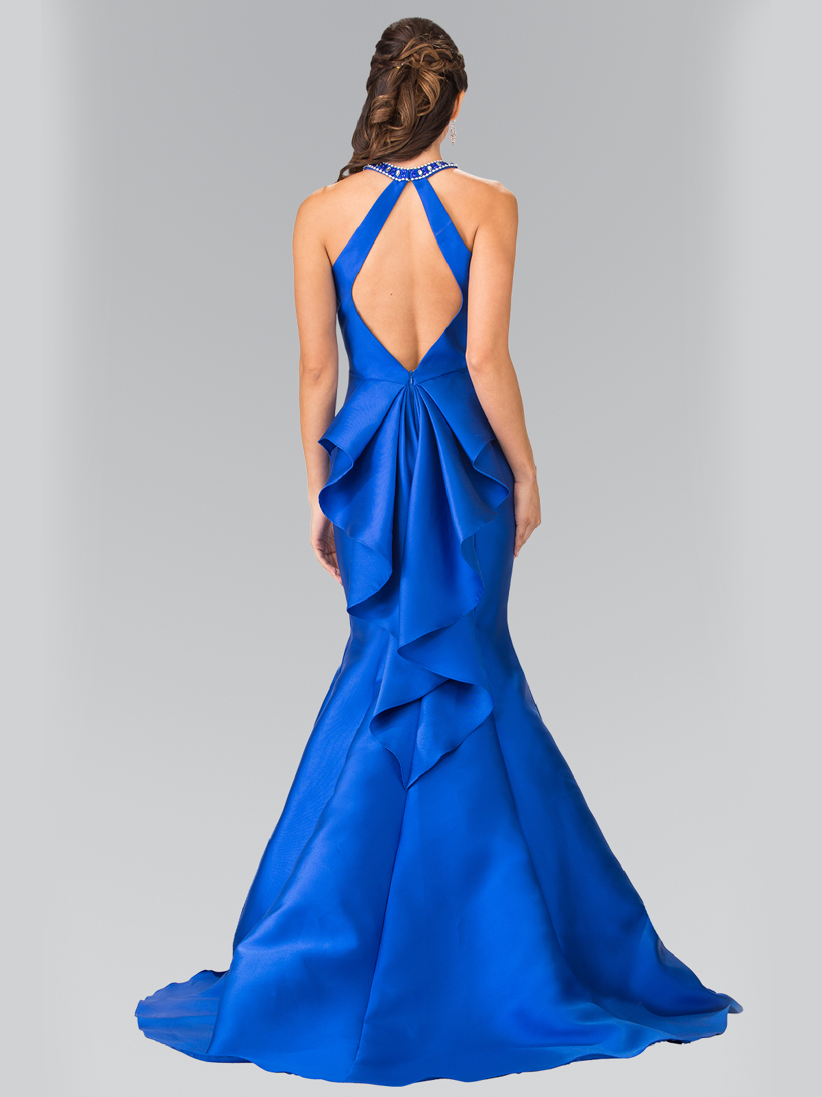 High Neck Mermaid Long Prom Dress Sung Boutique L A