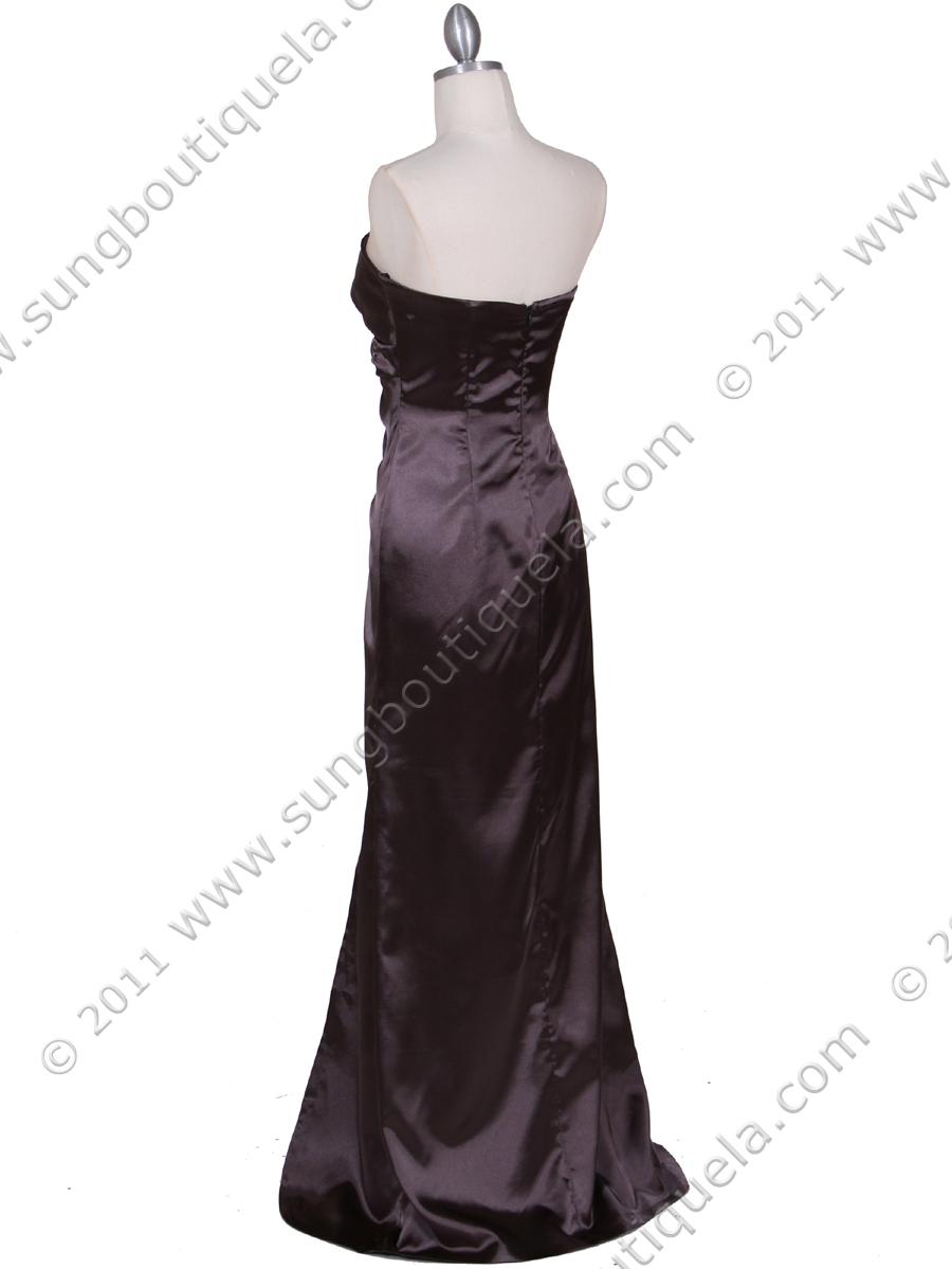 Charcoal Evening Dress | Sung Boutique L.A.