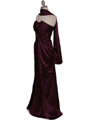 5052 Purple Evening Dress - Purple, Alt View Thumbnail