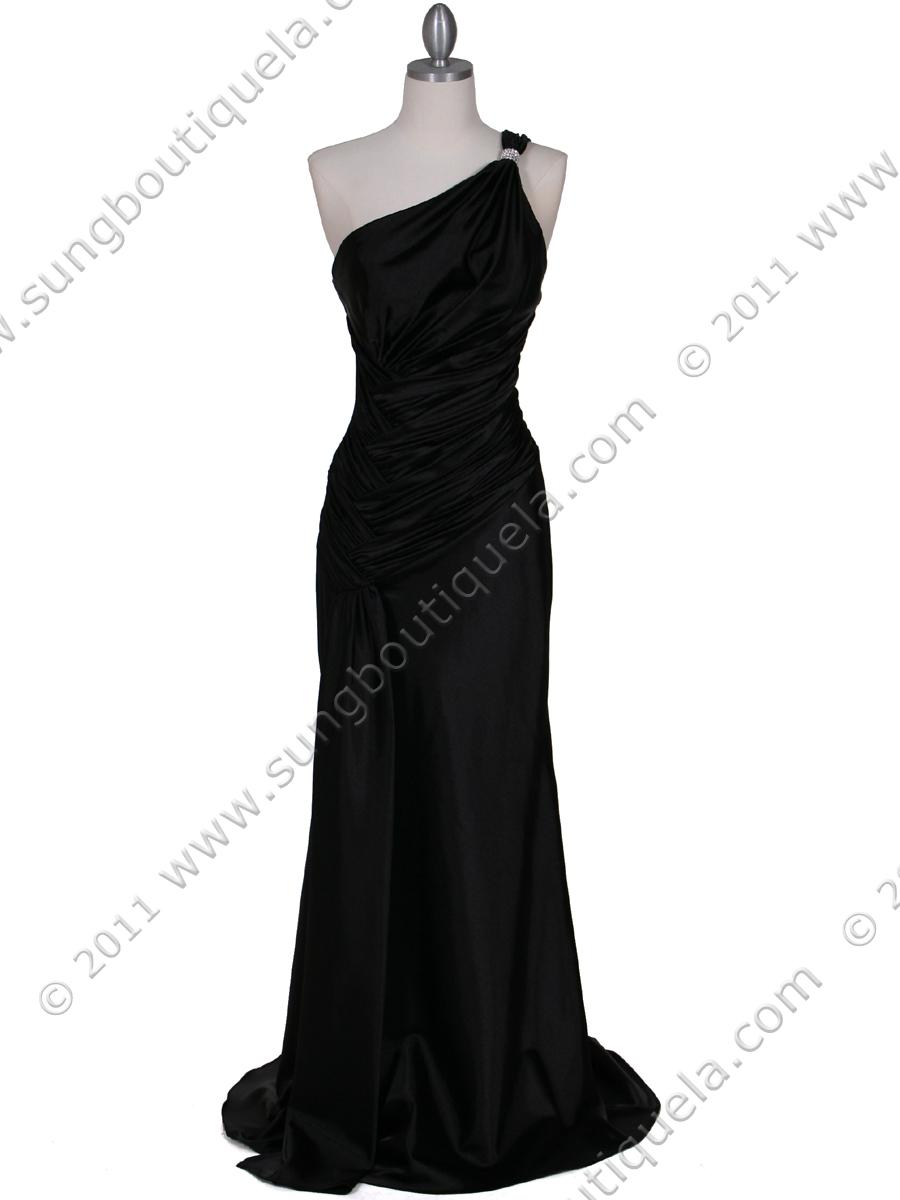 black prom dress on Shoulder Evening Dresses  Black Evening Dresses  Women Evening Dresses