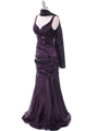 5098 Dark Purple Bridesmaid Dress - Dark Purple, Alt View Thumbnail