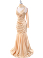 5098 Gold Bridesmaid Dress - Gold, Alt View Thumbnail