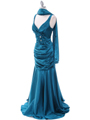 5098 Teal Bridesmaid Dress - Teal, Alt View Thumbnail