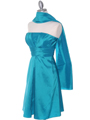 509 Jade Taffeta Bridesmaid Dress - Jade, Alt View Thumbnail