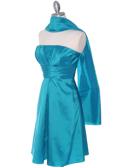 509 Jade Taffeta Bridesmaid Dress - Jade, Alt View Medium