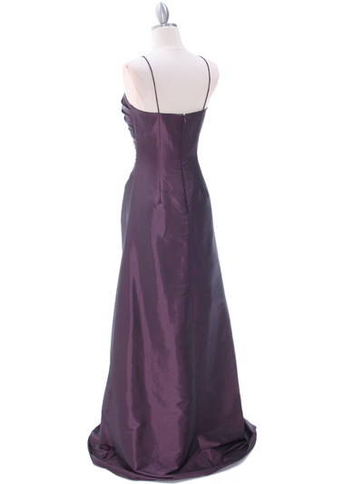 511 Mauve Bridesmaid Dress - Mauve, Back View Medium