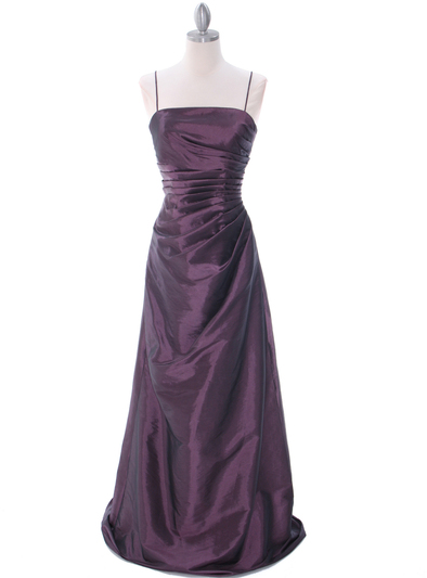 511 Mauve Bridesmaid Dress - Mauve, Front View Medium