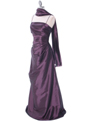 511 Mauve Bridesmaid Dress - Mauve, Alt View Thumbnail
