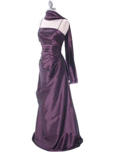 511 Mauve Bridesmaid Dress - Mauve, Alt View Medium