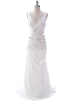 5231 Off White Destination Bridal Dress, Off White