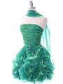 Green Short Prom Dress