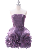 Light Purple Homecoming Dress