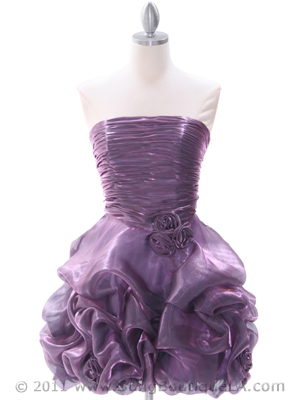 Light Purple Homecoming Dress - Front Image