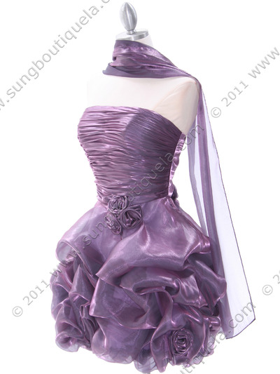5240 Light Purple Homecoming Dress - Light Purple, Alt View Medium