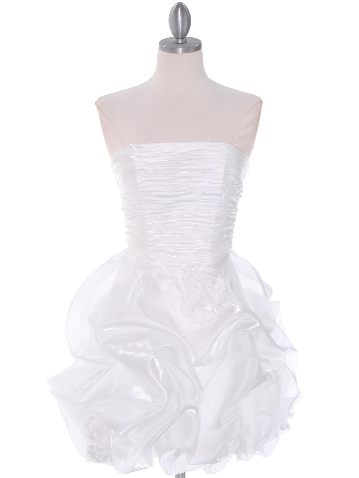 7ad57f00863 Off White Graduation Dress