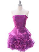 Plum Homecoming Dress