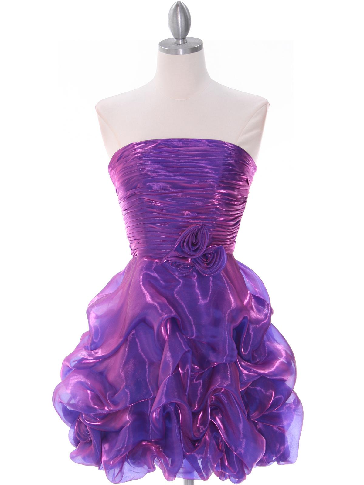 Purple Short Prom Dress Sung Boutique L A
