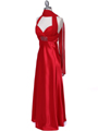 7173 Red Halter Evening Dress - Red, Alt View Thumbnail