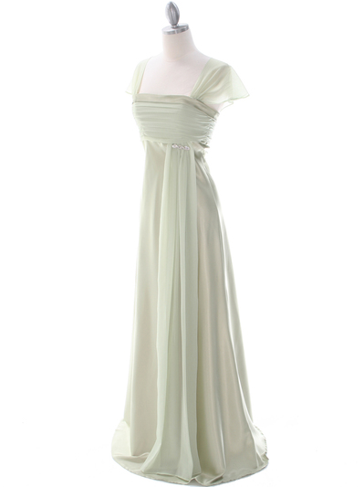 7302 Sage Mother of The Bride Dress - Sage, Alt View Medium
