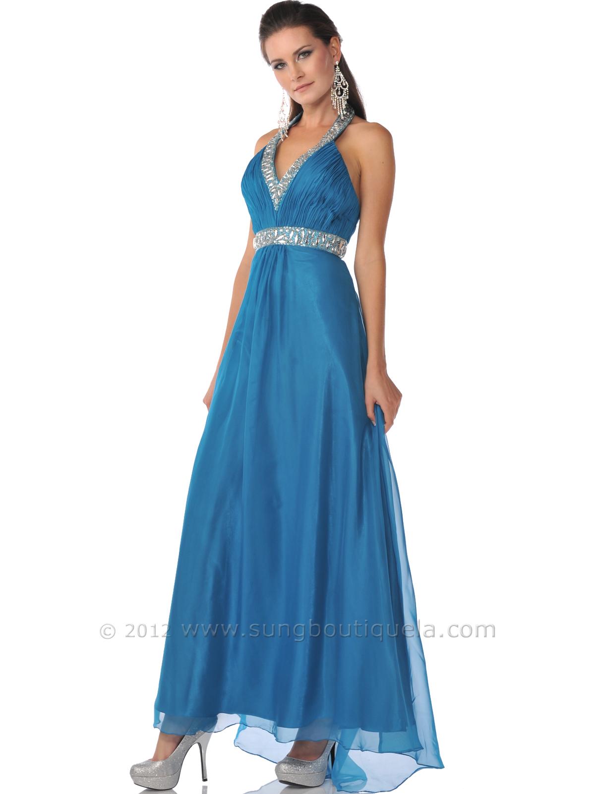 Halter Evening Dresses