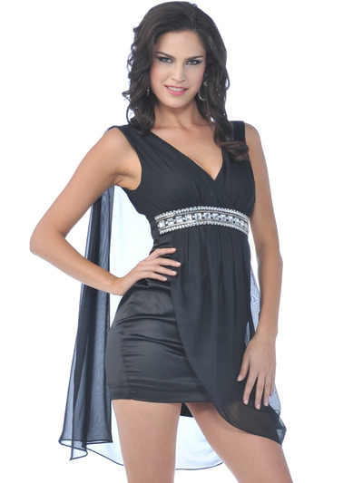 76176 Little Black Dress - Black, Front View Medium