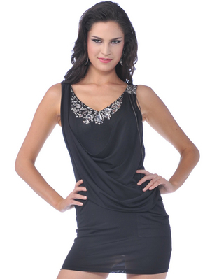 76272 Little Black Dress, Black