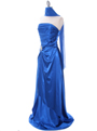 Royal Charmeuse Evening Dress