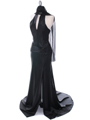 7701 Black Evening Dress - Black, Alt View Thumbnail