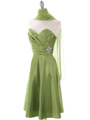 7703 Green Homecoming Dress - Green, Alt View Thumbnail