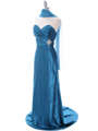 7704 Teal Bridesmaid Dress - Teal, Alt View Thumbnail