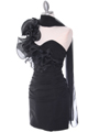 7712 Black Cocktail Dress - Black, Alt View Thumbnail