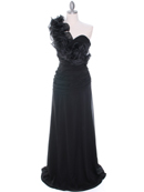 7713 Black Evening Dress, Black