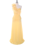 Yellow Prom Evening Dress