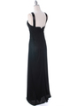7771 Black Evening Dress - Black, Back View Thumbnail