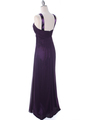 7771 Purple Evening Dress - Purple, Back View Thumbnail