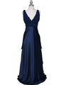 7812 Navy Evening Dress - Navy, Front View Thumbnail