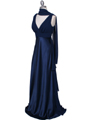 7812 Navy Evening Dress - Navy, Alt View Thumbnail