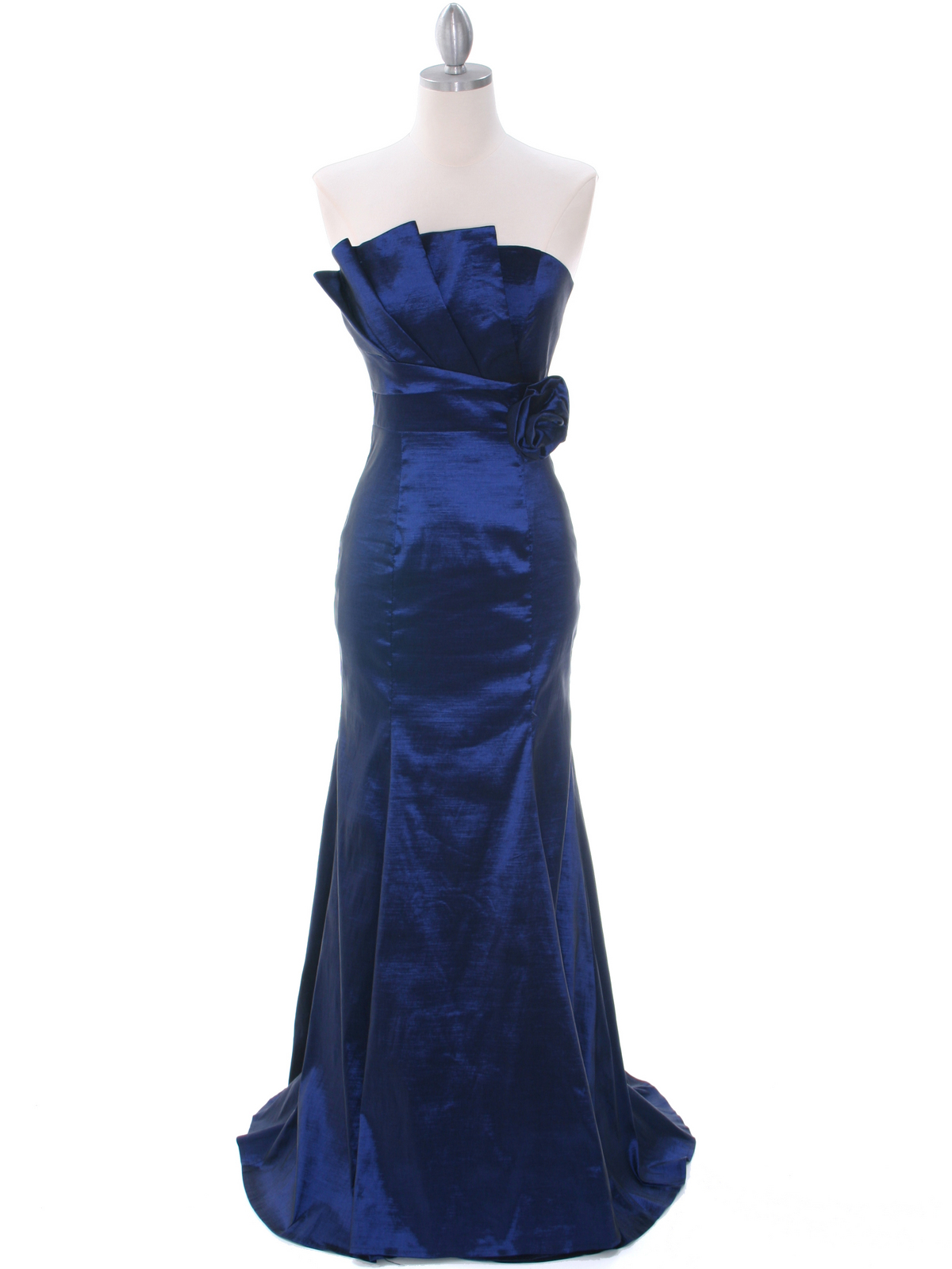 Navy Evening Gown | Sung Boutique L.A.
