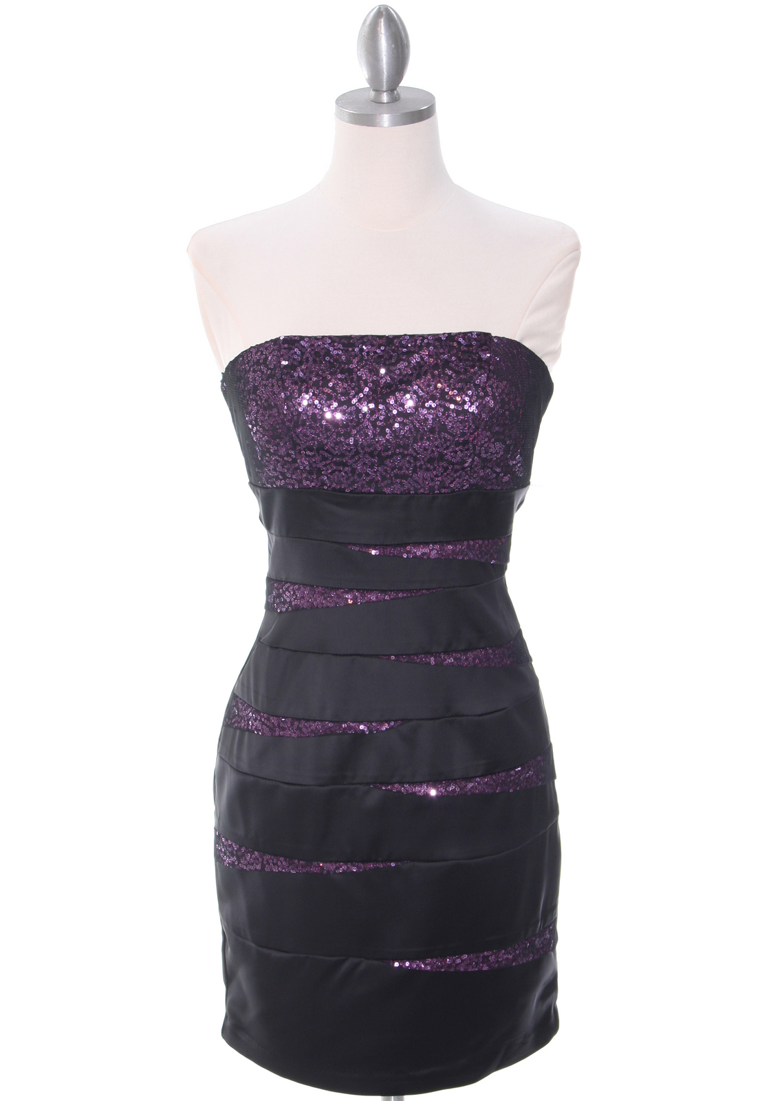 purple and black dresses on Black Purple Party Dresses  Sequin Satin Dress  Hoiday Dresses From