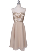 8610 Gold Cocktail Dress, Gold