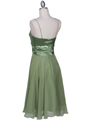 Green Cocktail Dress - Back Image