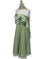 Green Cocktail Dress - Alt Image