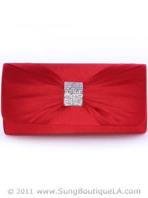 92021 Red Evening Bag, Red