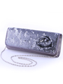 92105 Pewter Sequin Evening Bag - Pewter, Alt View Thumbnail