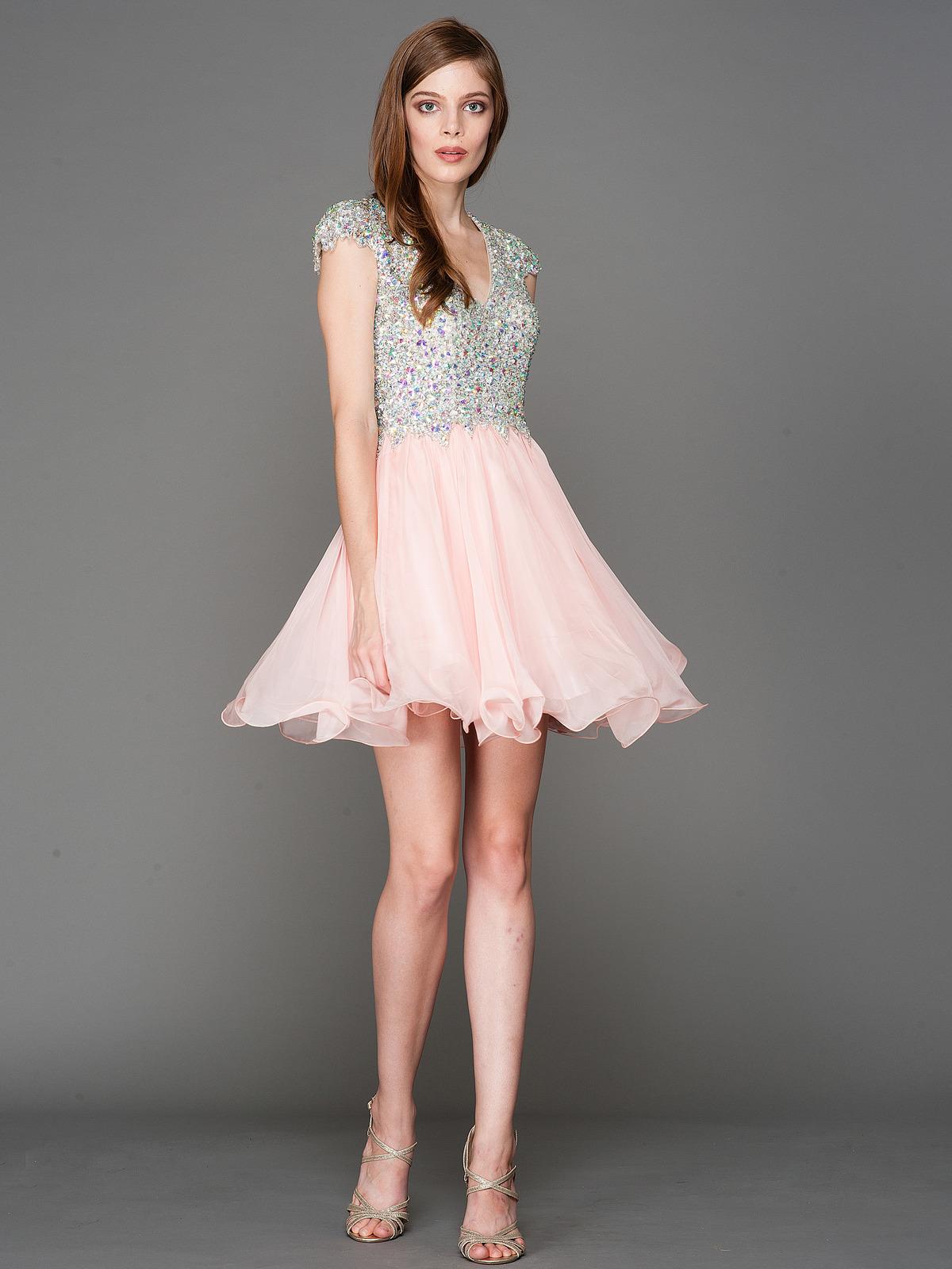 Short Black Homecoming Dresses