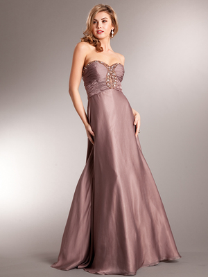 AC222 Keyhole Prom Dress, Dusty Rose