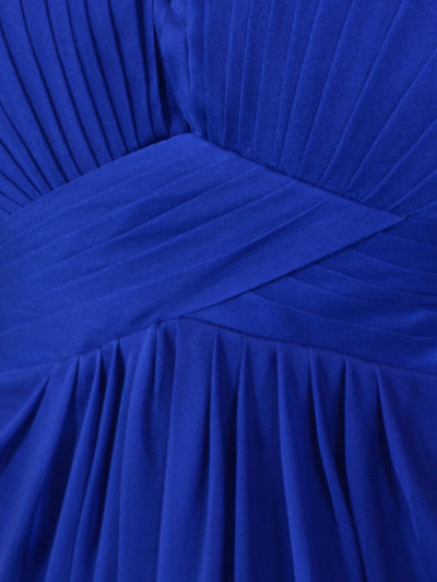 AC304 Pleated Strapless Evening Dress - Royal Blue, Alt View Medium