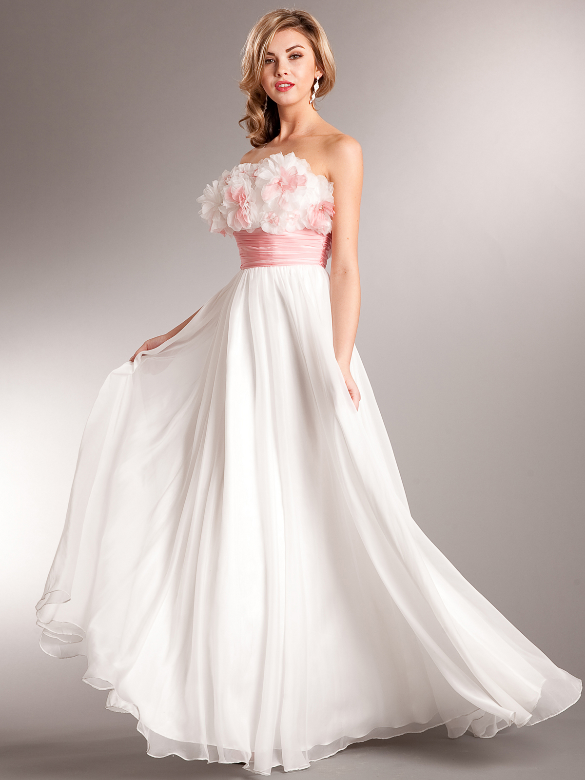 04b6d6308c AC612 Debutant Debut Special Occasion Dress - Off White, Front View Medium  ...